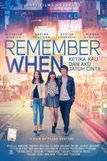 Nonton Film Remember When (2014) Terbaru