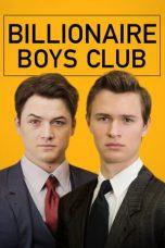 Nonton Film Billionaire Boys Club (2018) Terbaru