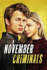 Nonton Film November Criminals (2017) Terbaru