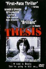 Nonton Film Thesis (1996) Terbaru